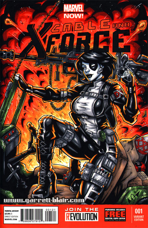 Domino sketch cover by gb2k