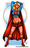 Supergirl Bodyshot by gb2k