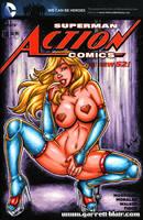 Super Stripper sketch cover by gb2k