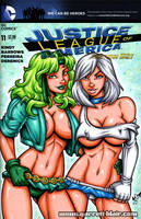 Skimpy Fire + Ice sketch cover by gb2k