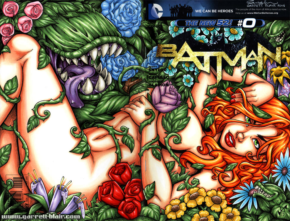 Poison Ivy full sketch cover by gb2k