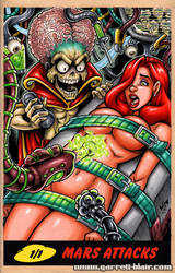 Mars Attacks Jessica Rabbit sketch cover by gb2k