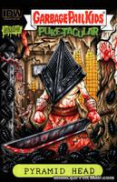 Chibi Pyramid Head sketch cover by gb2k