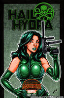 Madame Hydra sketch cover by gb2k