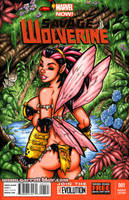 Savage Land Pixie sketch cover by gb2k
