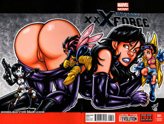 Naughty X-23 GBDolls cover commission by gb2k