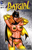 Batgirl Bat-Pasties sketch cover by gb2k