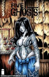 Tattooed Priestess sketch cover by gb2k