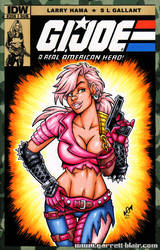 Zarana sketch cover by gb2k