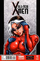 Extreme Rogue bust cover by gb2k