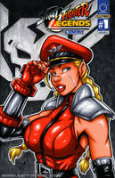Bison Cammy bust cover by gb2k