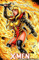 Phoenix Force Magik sketch cover by gb2k