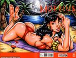 Moonbathing Vampirella sketch cover by gb2k
