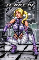 Nina Williams sketch cover by gb2k