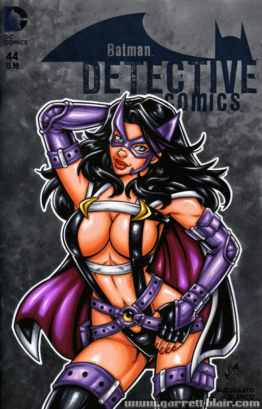 Huntress redesign sketch cover by gb2k