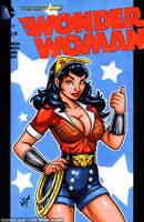 DC Bombshells Wonder Woman by gb2k