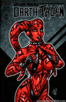 Darth Talon bikini cover by gb2k
