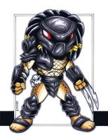 GBChibi Predator by gb2k