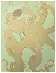 OO: The Androgynoctopus by korybing