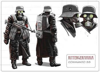 Commando SS Soldier. by LordOguzHan