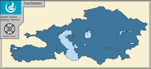Turan Federation. by LordOguzHan