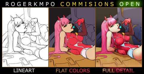 [OPENING] Cheap Commissions + NSFW by RogerKmpo