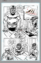 DarkChild Issue002 VTA pg5 - Inks by WilsonGuillaume