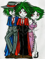 The Cruor Family by ladyju-san