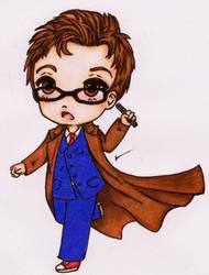 10th Doctor by ladyju-san