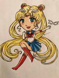 Sailor Moon by ladyju-san