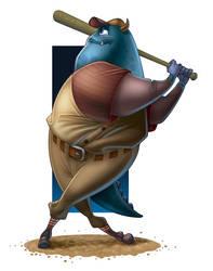 Stanley 'The Slugger' Sullivan by KingOlie