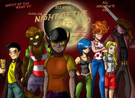Night of the Were-Ed DVD Box by Chillguydraws