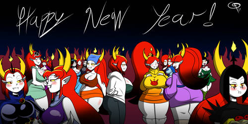 Year of the Heka! by Chillguydraws