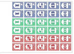 Currency Stamps 2 by MrSchiele