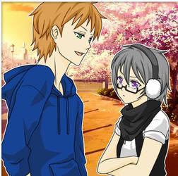 yukiro and taito by PK-PSDOL