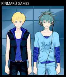 Tenyo and Iro by PK-PSDOL