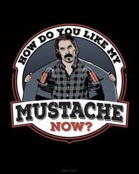 Doc's Mustache by ratscape
