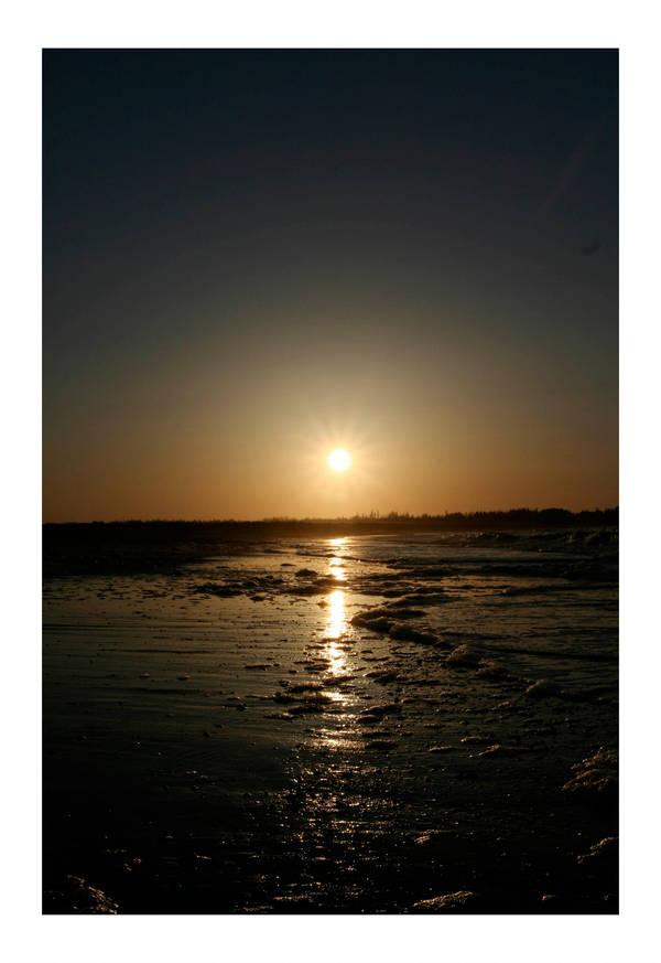 Beach Sunset 2 by fragle