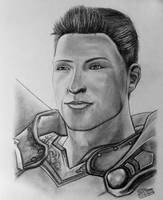 Alistair Drawing - Dragon Age Fan Art by LethalChris