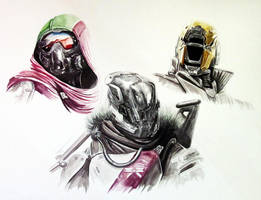 Destiny Fan Art Painting by LethalChris