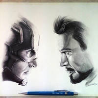 Captain America: Civil War - Drawing by LethalChris