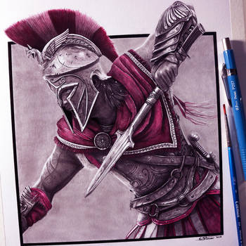 Assassin's Creed Odyssey Drawing by LethalChris