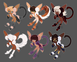 Nyap Batch 1 [CLOSED] by Pixel-Latte