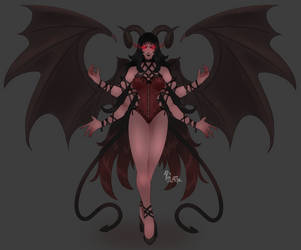 Like a Bat from Hell (AUCTION) [CLOSED] by Pixel-Latte