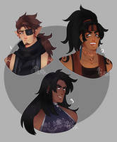 bust adopts (closed) by Pixel-Latte