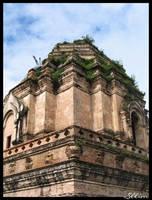 Wat Chedi Luang by sllim