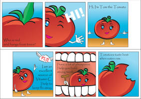The Tomato Story by sllim