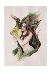 Magic Leaf by darktear83