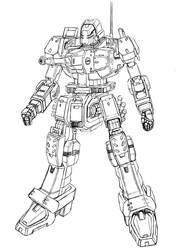 Various robot 02 by k-kaworu