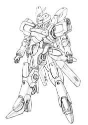 Various robot 03 by k-kaworu